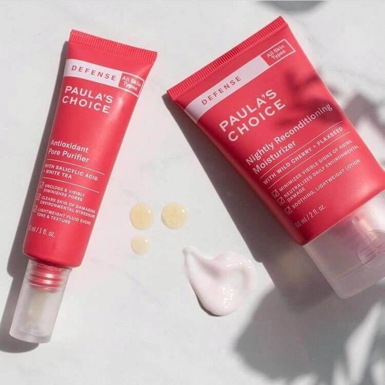 Serum dưỡng trắng da chống lão hóa Paula's Choice Defense Antioxidant Pore Purifier