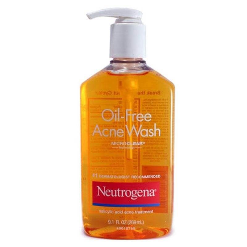 sản phẩm rửa mặt của Neutrogena Oil – Free Acne Wash