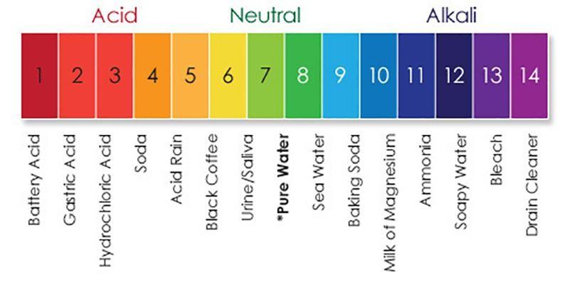 Sữa rửa mặt có pH phù hợp với da cho màu vàng ngả hơi cam khi thử với giấy thử pH - sữa rửa mặt làm khô da
