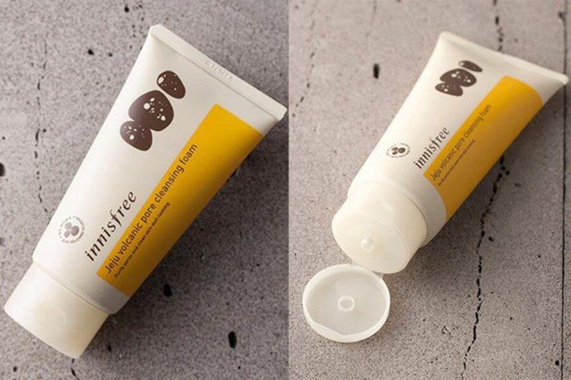 Sữa rửa mặt trị mụn Innisfree volcanic pore farm