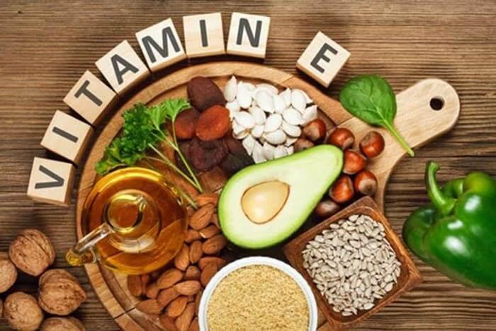 Vitamin E giúp cải thiện làn da